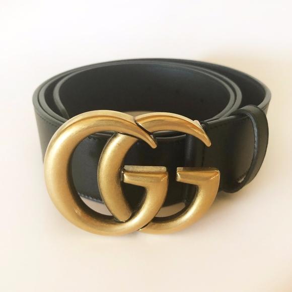 best service a7380 c64f9 GUCCI Cintura Donna Leather Belt - *AUTHENTIC*